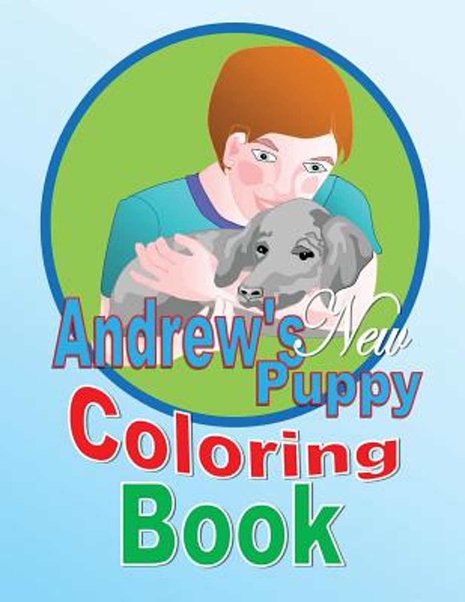 Andrew's New Puppy Coloring Book