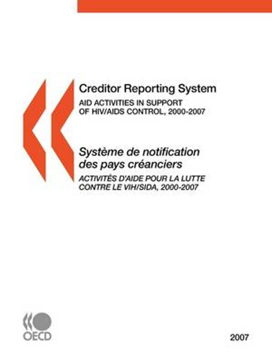 Creditor Reporting System on Aid Activities 2007