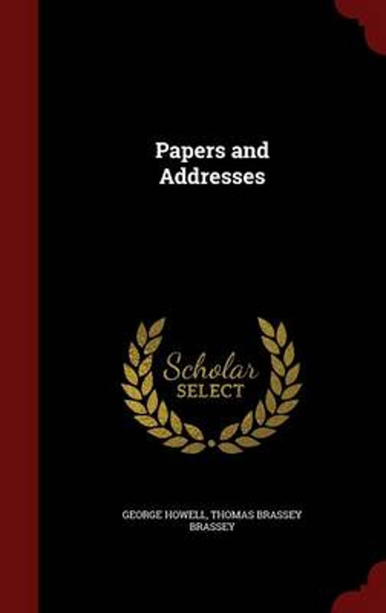 Papers and Addresses