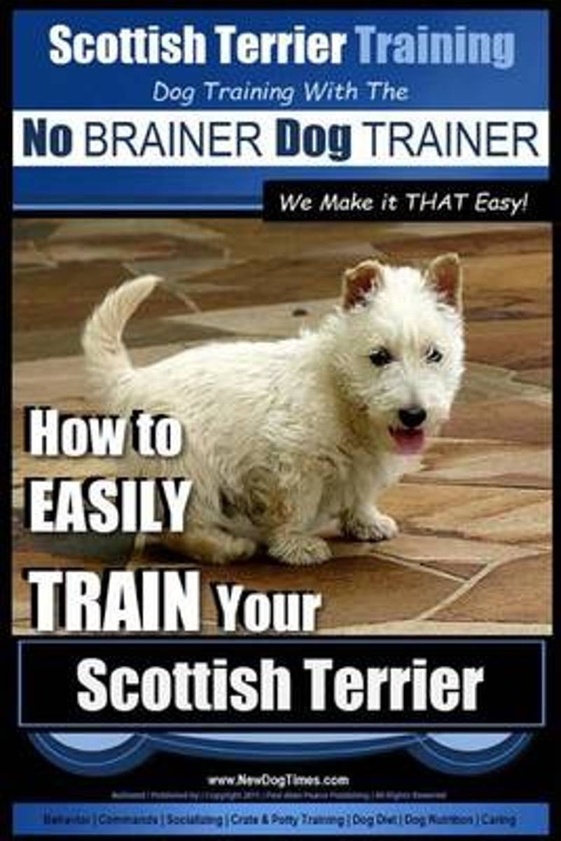 Scottish Terrier Training Dog Training with the No Brainer Dog Trainer We Make It That Easy!