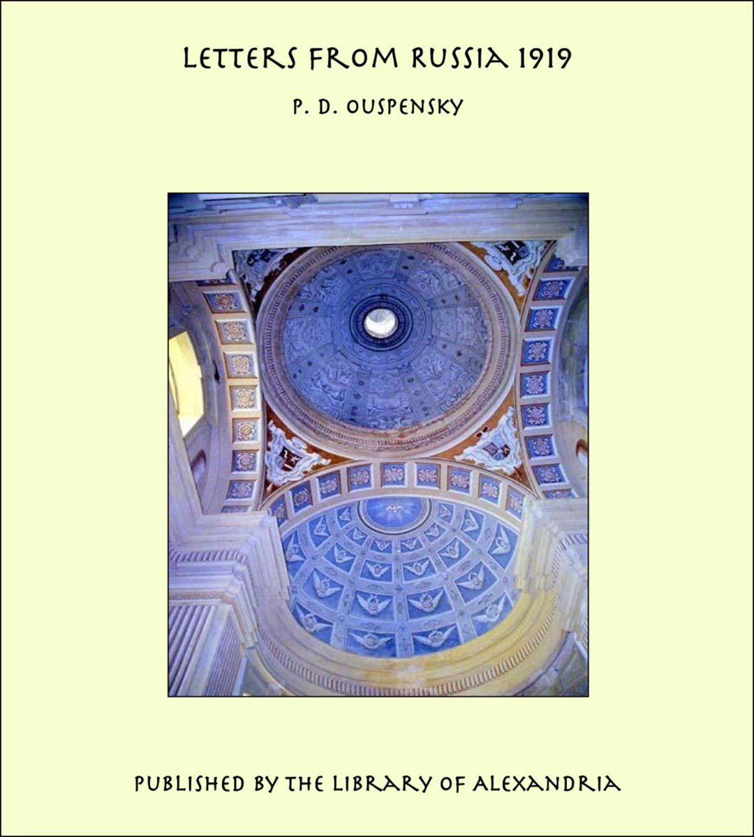 Letters From Russia 1919