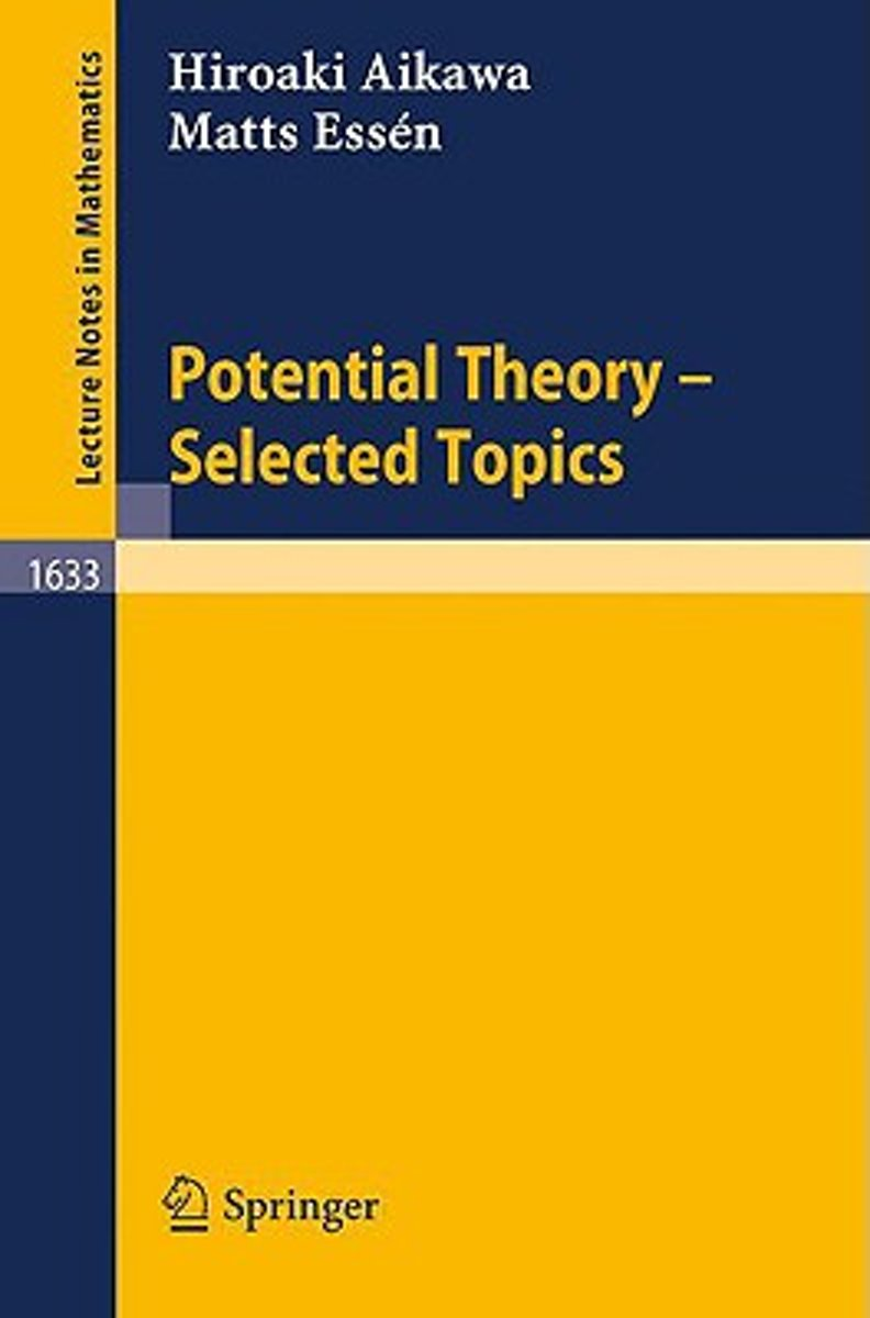 Potential Theory - Selected Topics