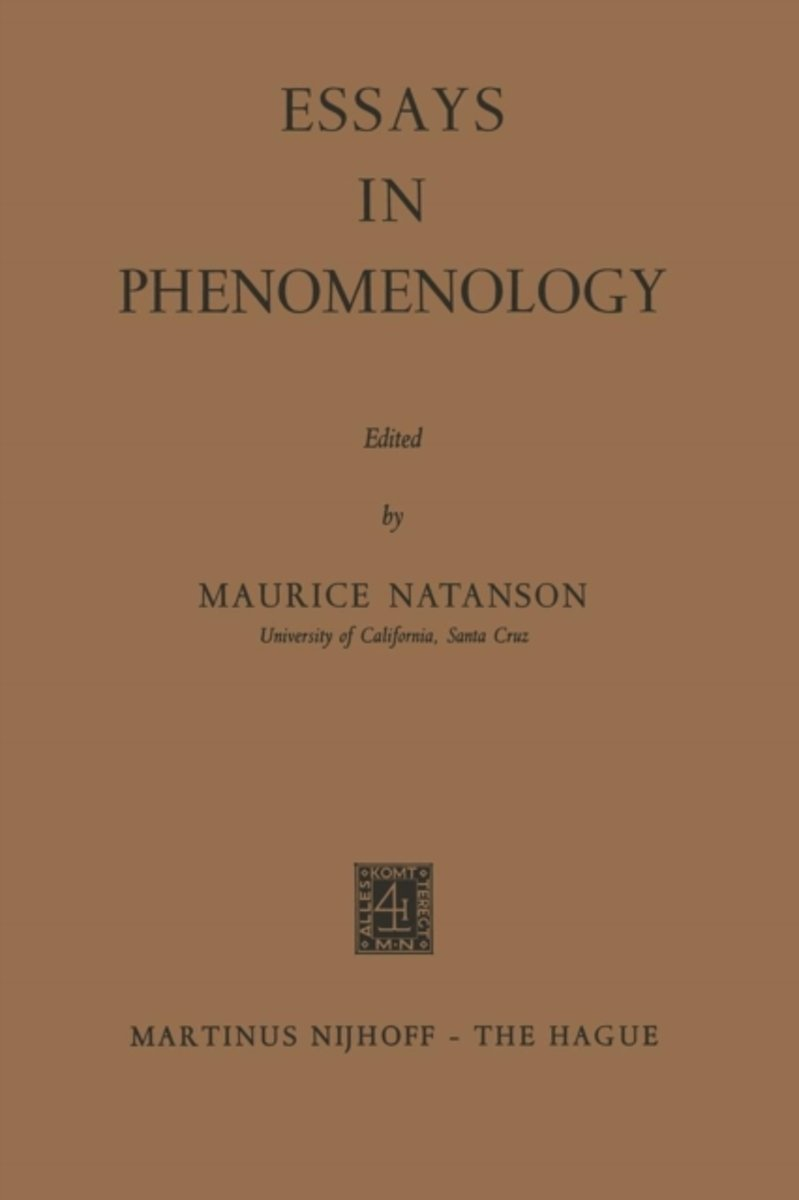 Essays in Phenomenology