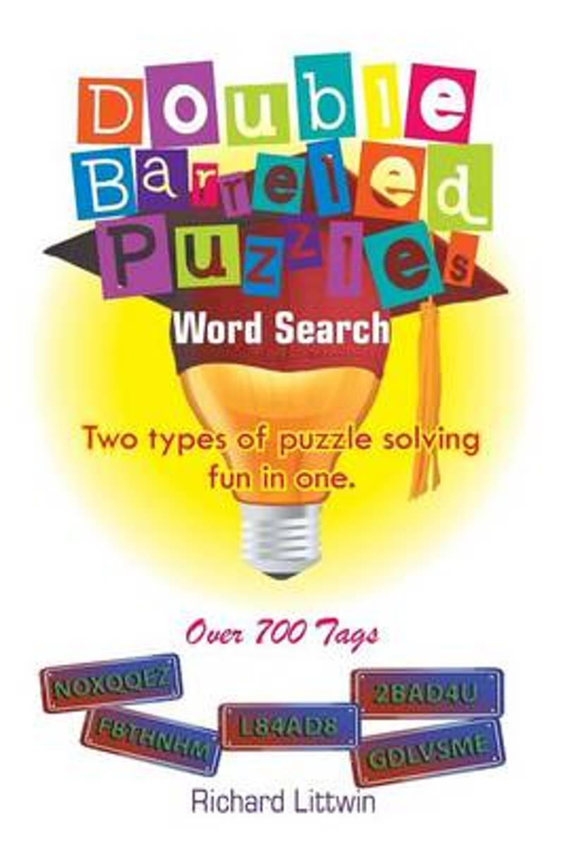 Double Barreled Word Search Puzzles