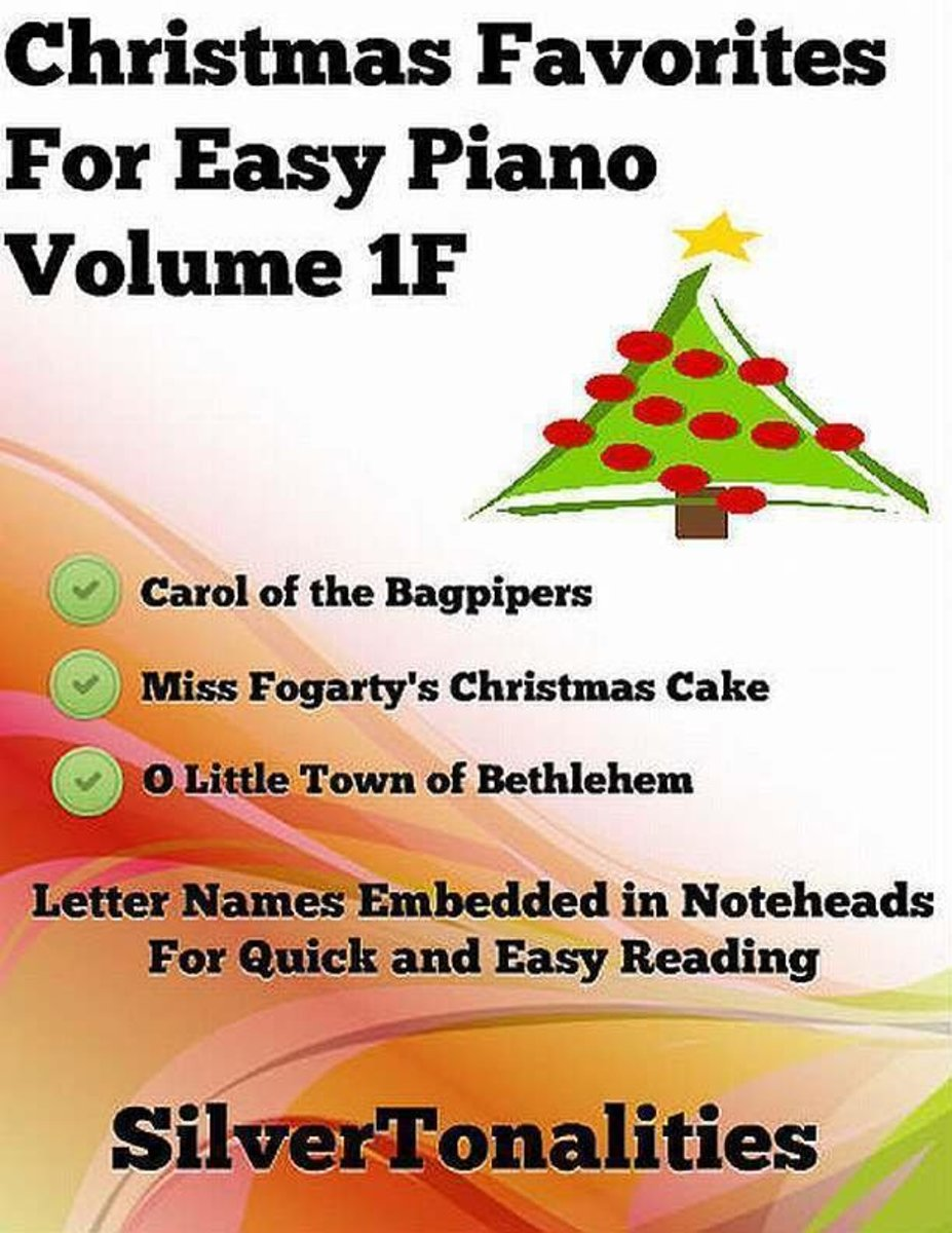 Christmas Favorites for Easy Piano Volume 1 F