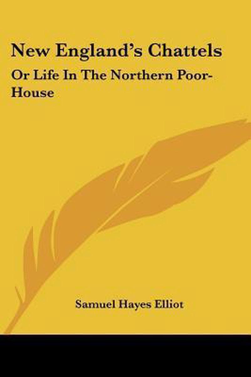 New England's Chattels: Or Life In The N
