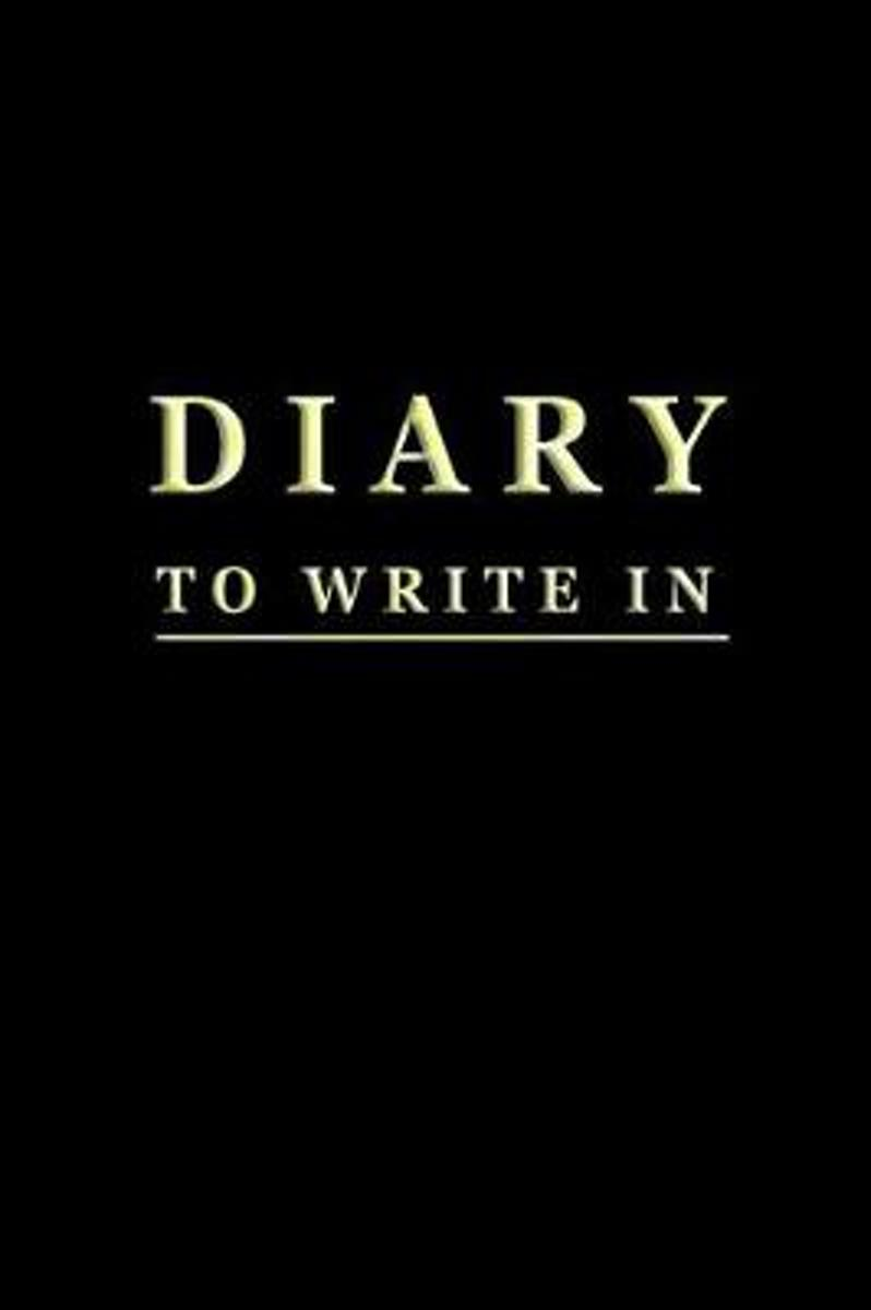 Diary to Write in