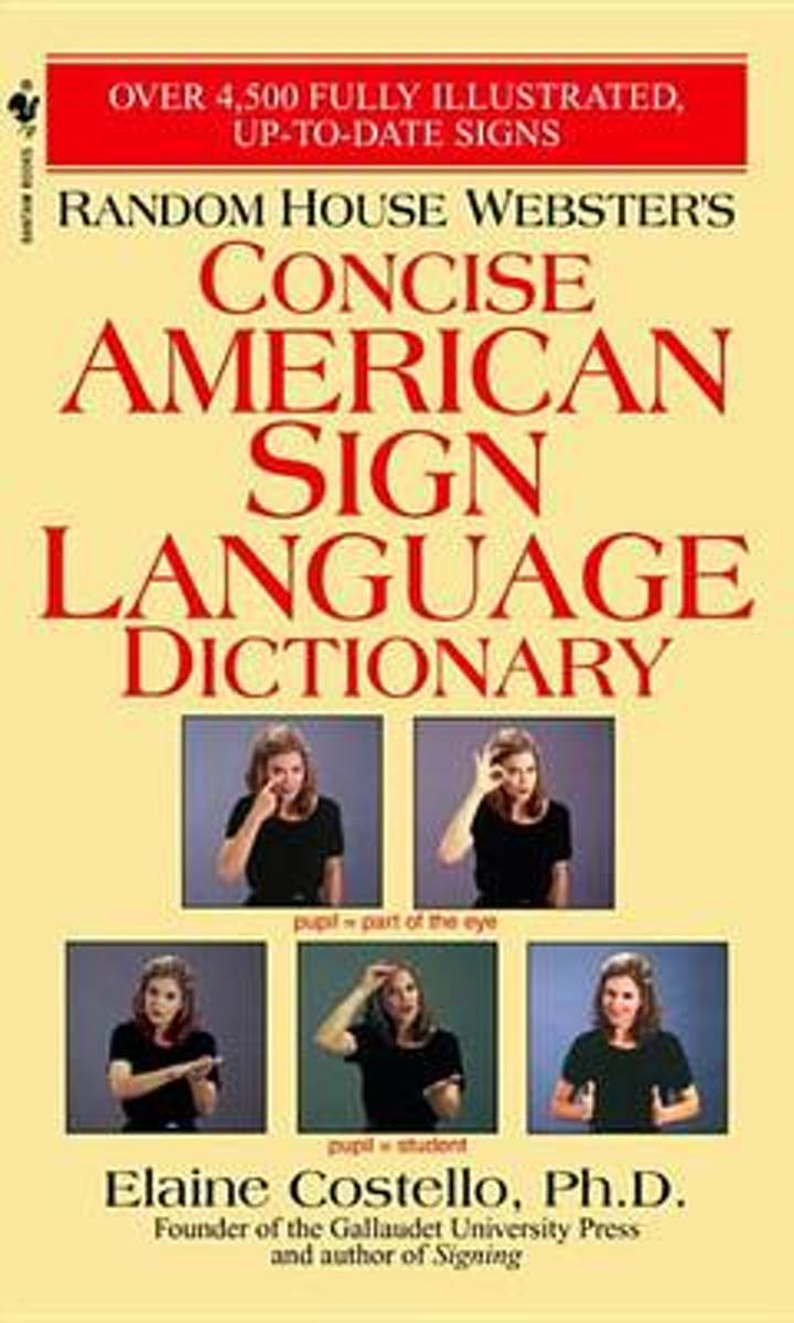 Rhw Concise Asl Dictionary