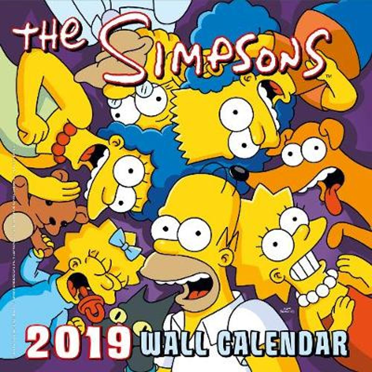 Officiële The Simpsons Kalender 2019