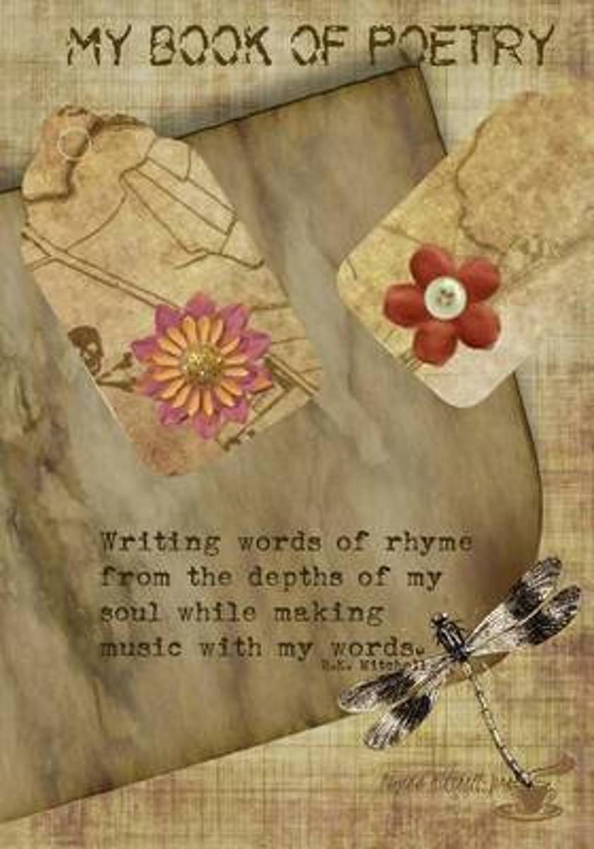 My Book of Poetry - A Journal