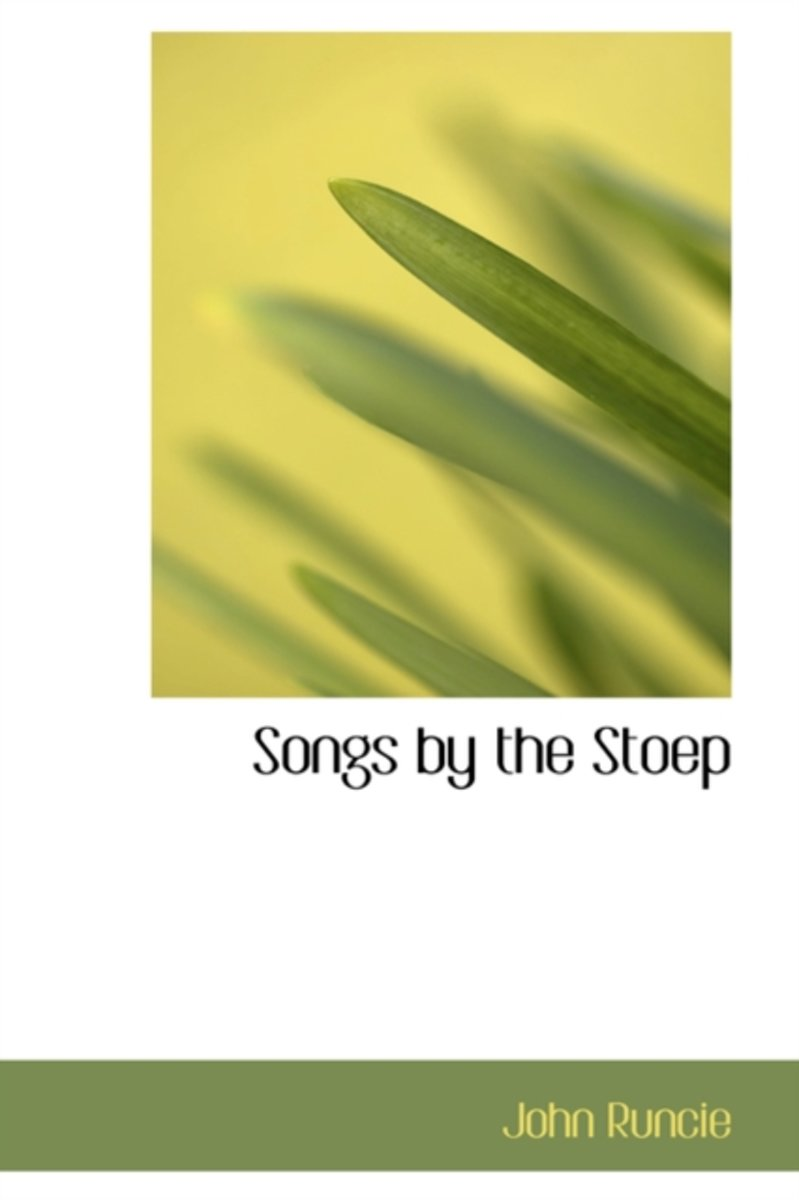 Songs by the Stoep
