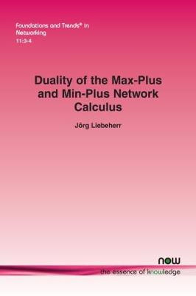 Duality of the Max-Plus and Min-Plus Network Calculus
