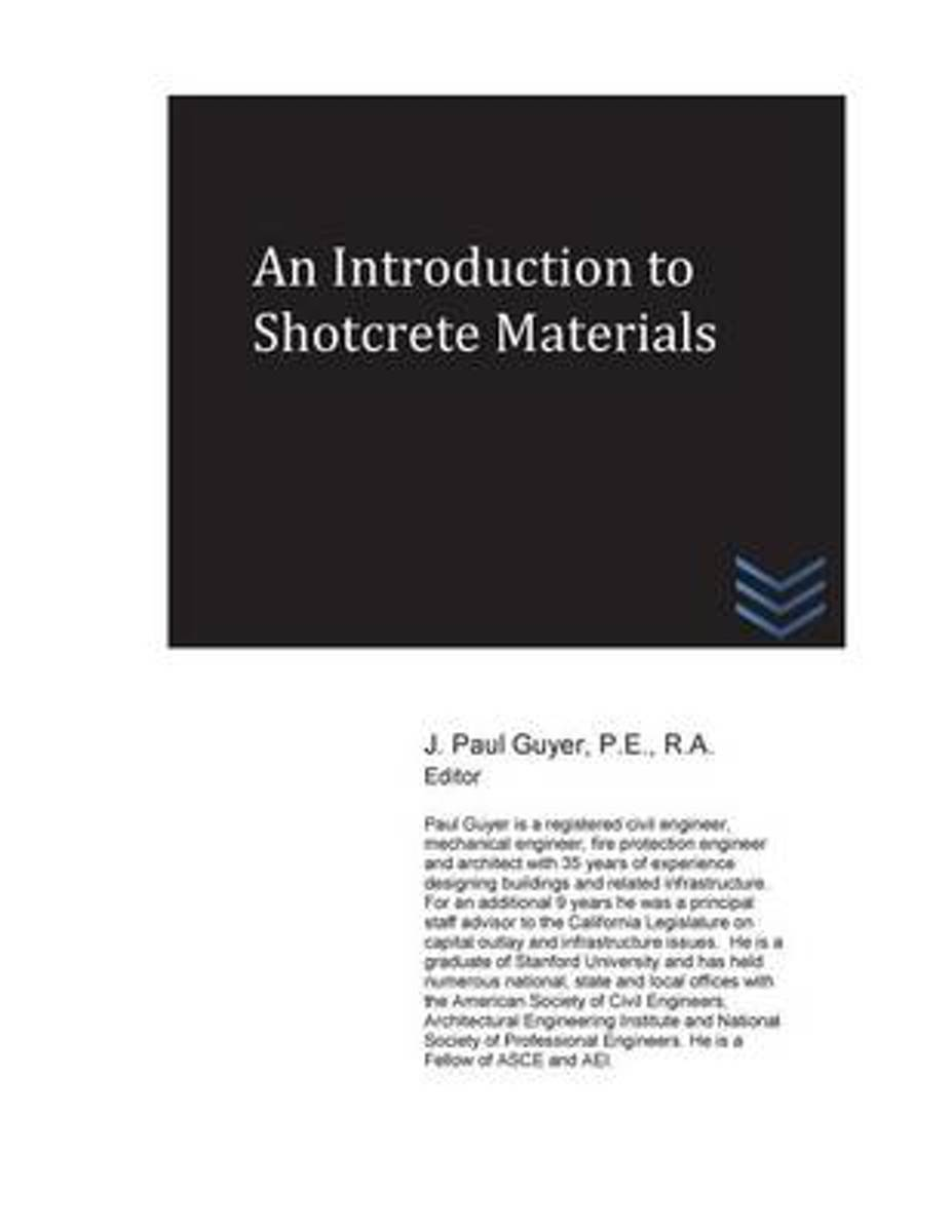 An Introduction to Shotcrete Materials