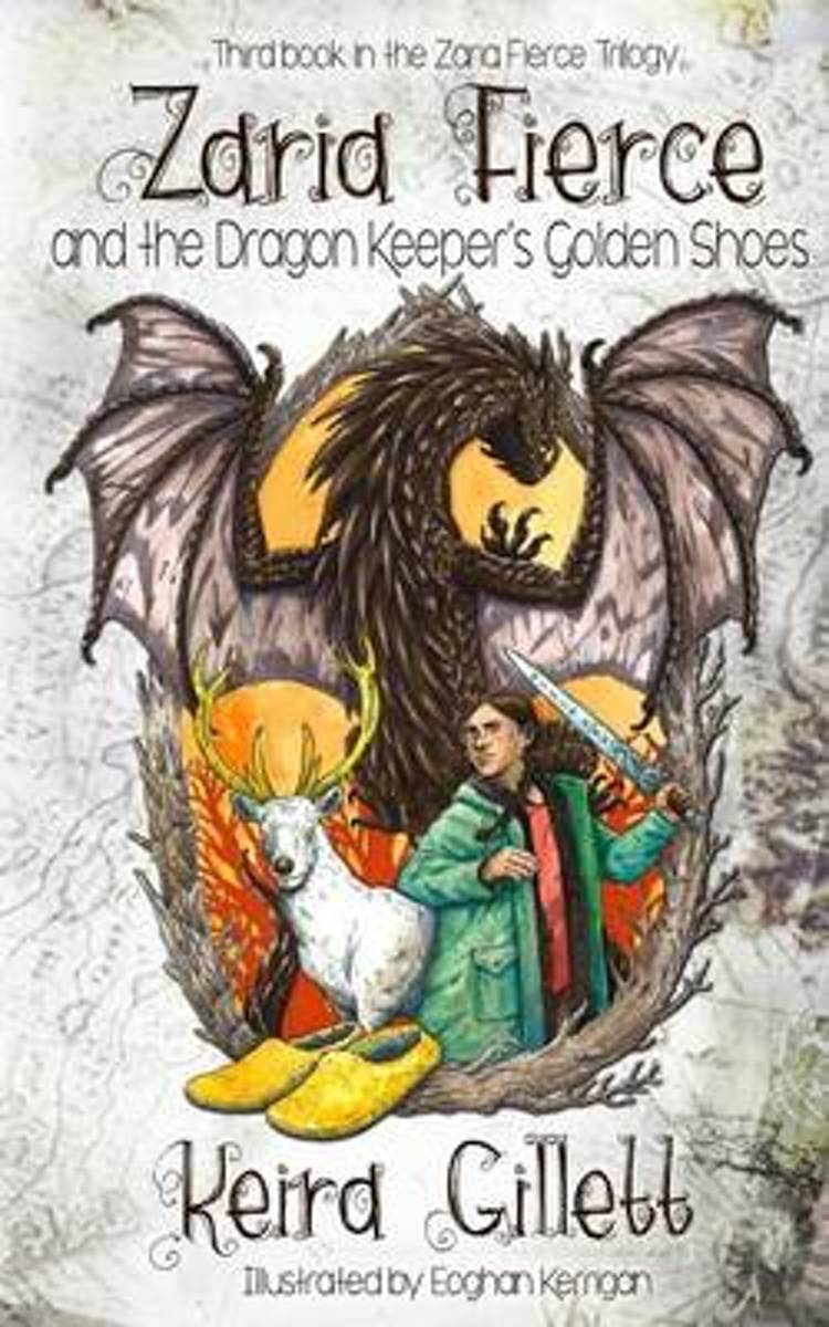 Zaria Fierce and the Dragon Keeper's Golden Shoes