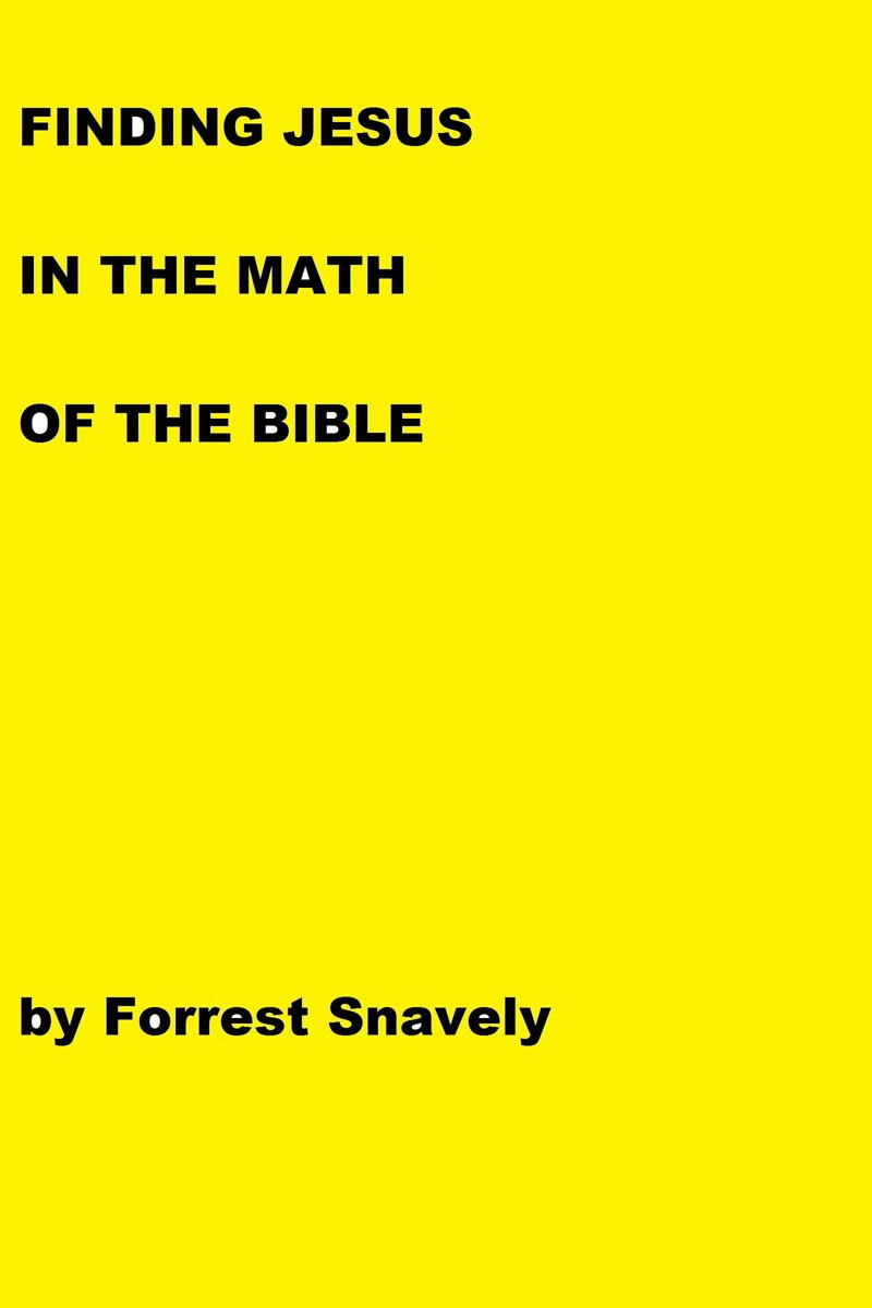 Finding Jesus in the Math of the Bible