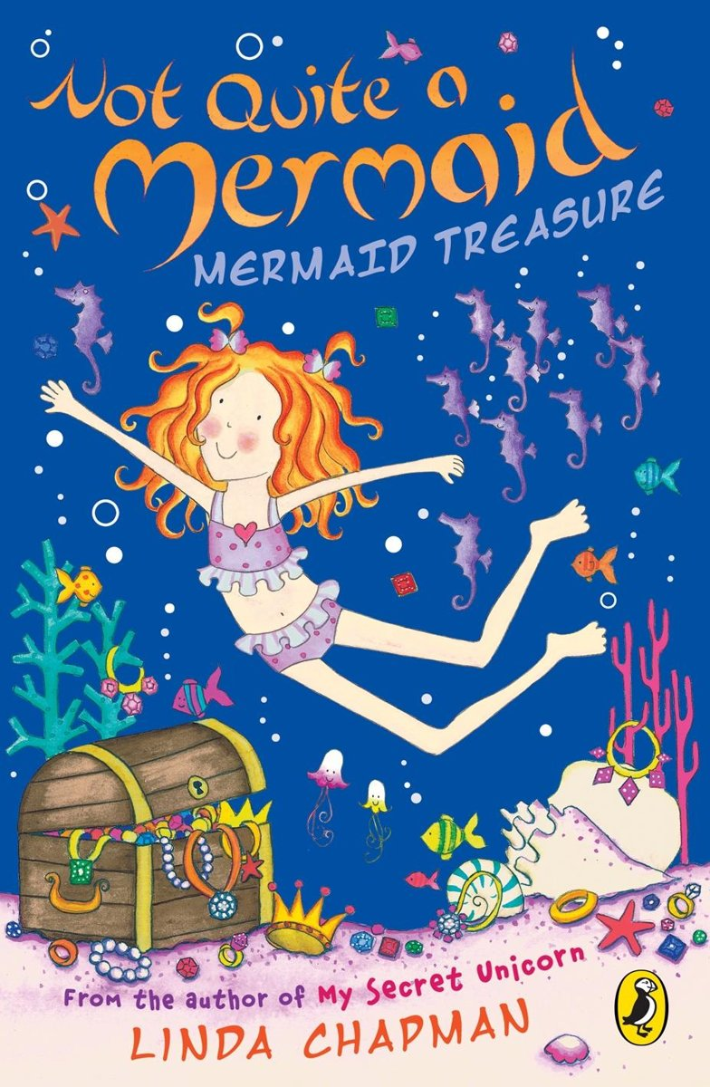 Not Quite a Mermaid: Mermaid Treasure