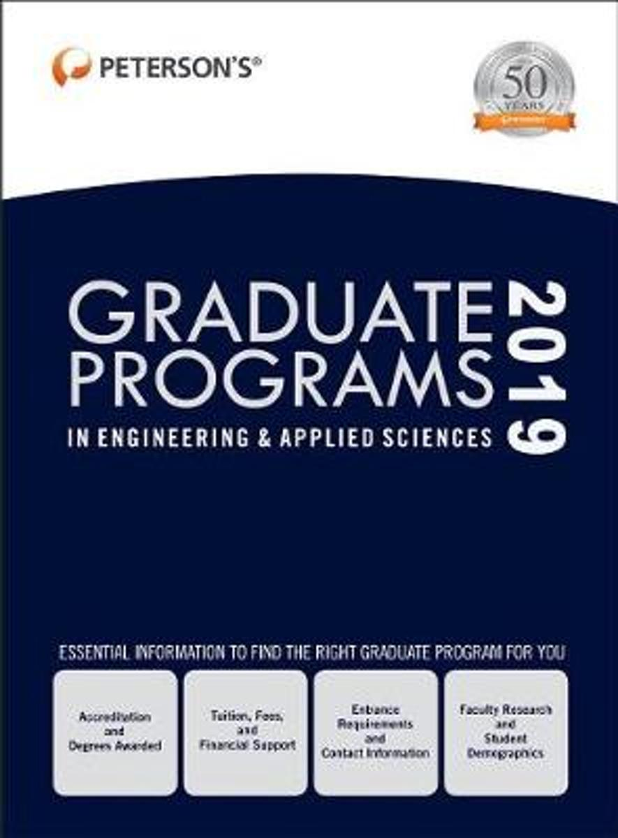 Graduate Programs in Engineering & Applied Sciences 2019 (Grad 5)