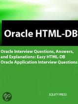 Easy Oracle Html-Db Interview Questions