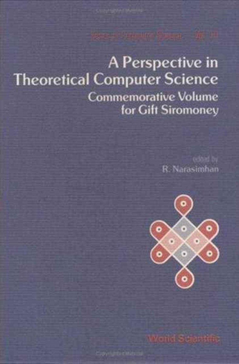 Perspective In Theoretical Computer Science, A