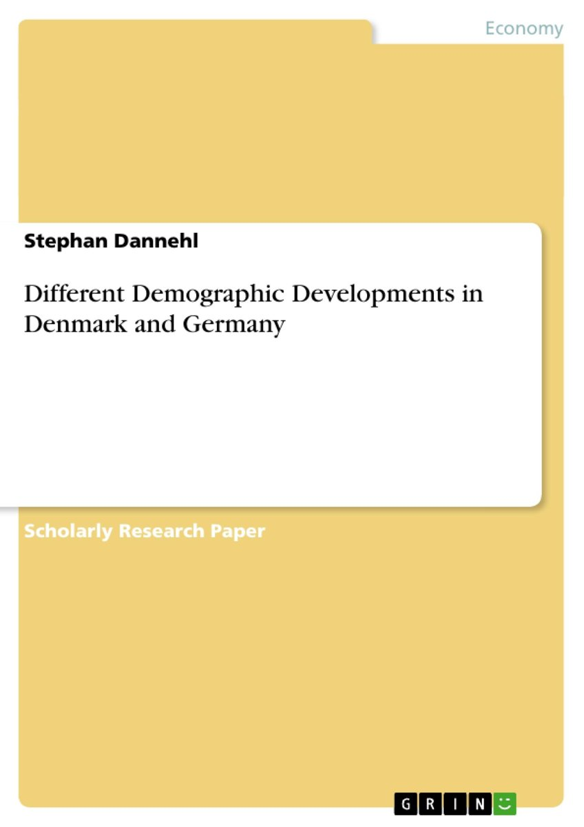 Different Demographic Developments in Denmark and Germany