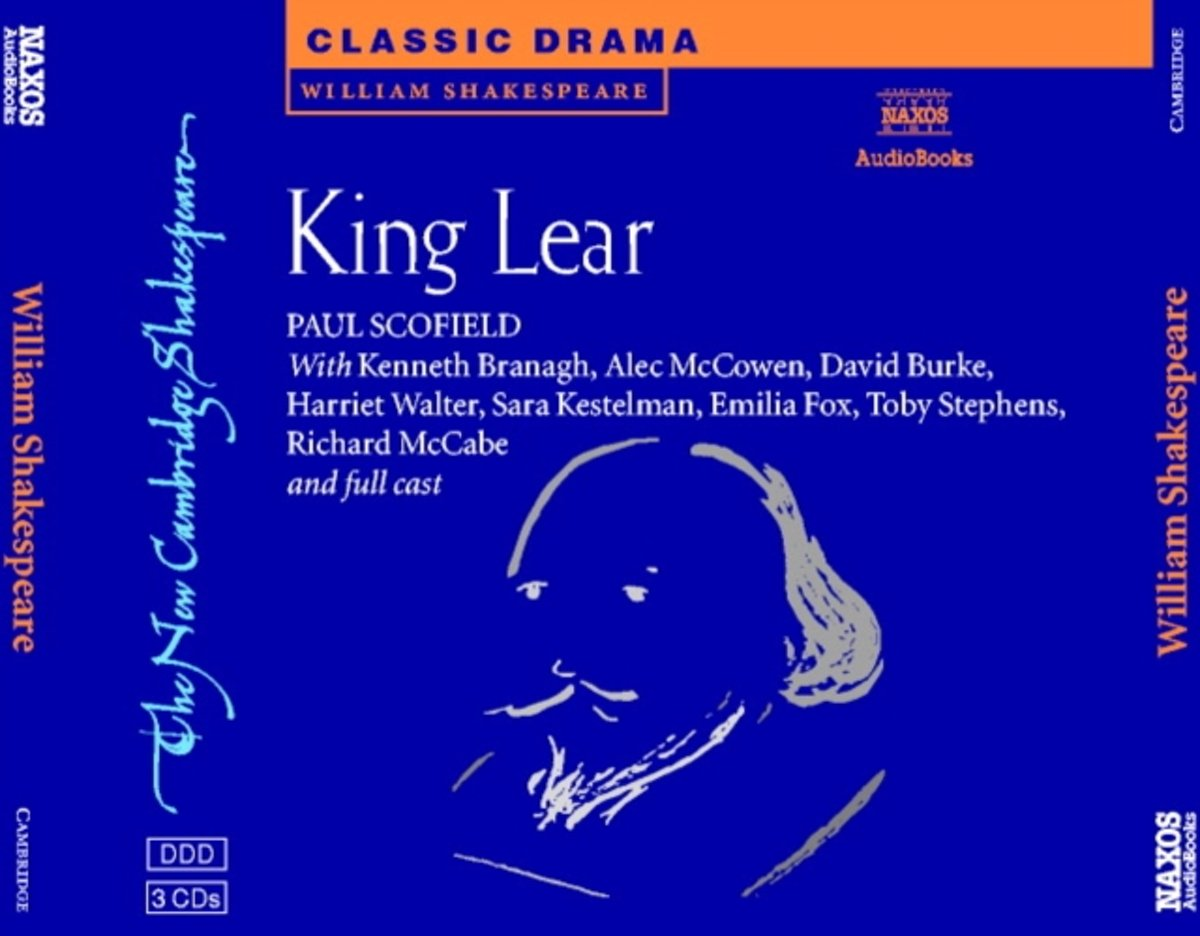 King Lear Set of 3 Audio CDs
