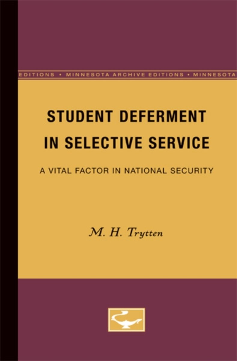 Student Deferment in Selective Service