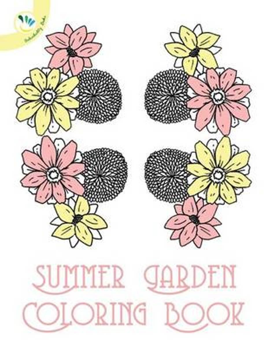 Summer Garden Coloring Book