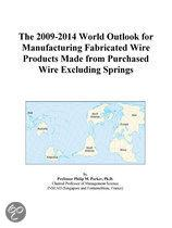 The 2009-2014 World Outlook for Manufacturing Fabricated Wire Products Made from Purchased Wire Excluding Springs