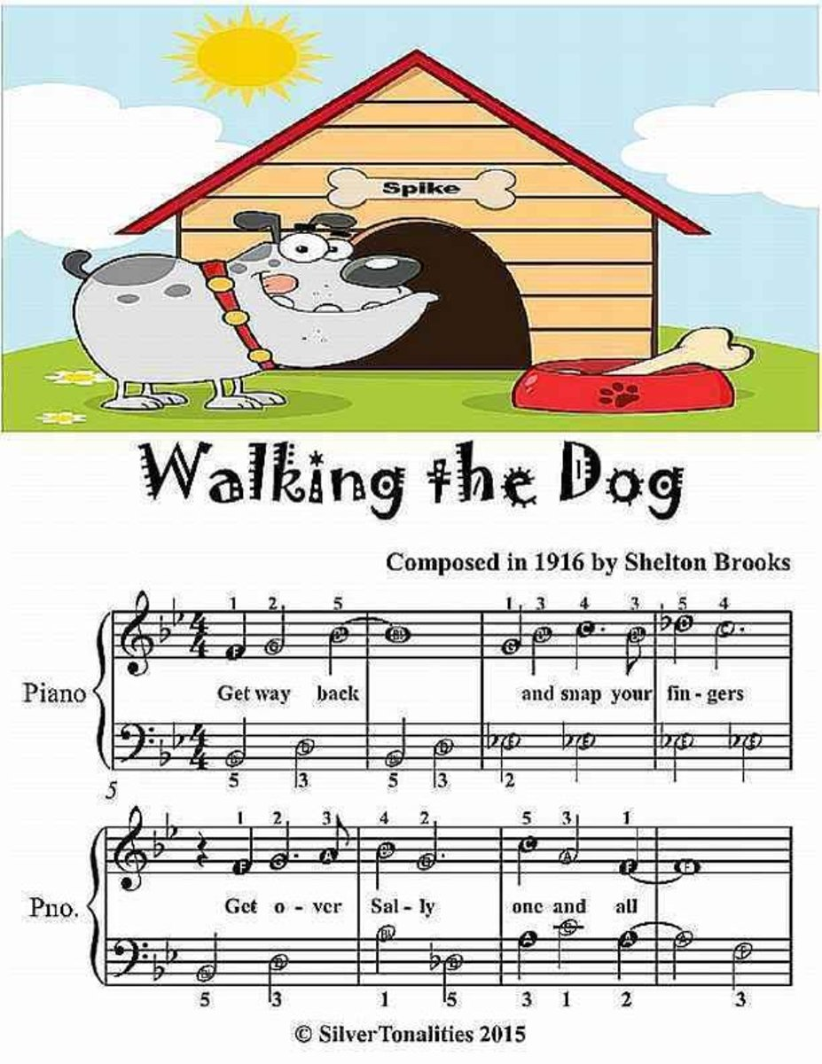 Walking the Dog - Easiest Piano Sheet Music Junior Edition