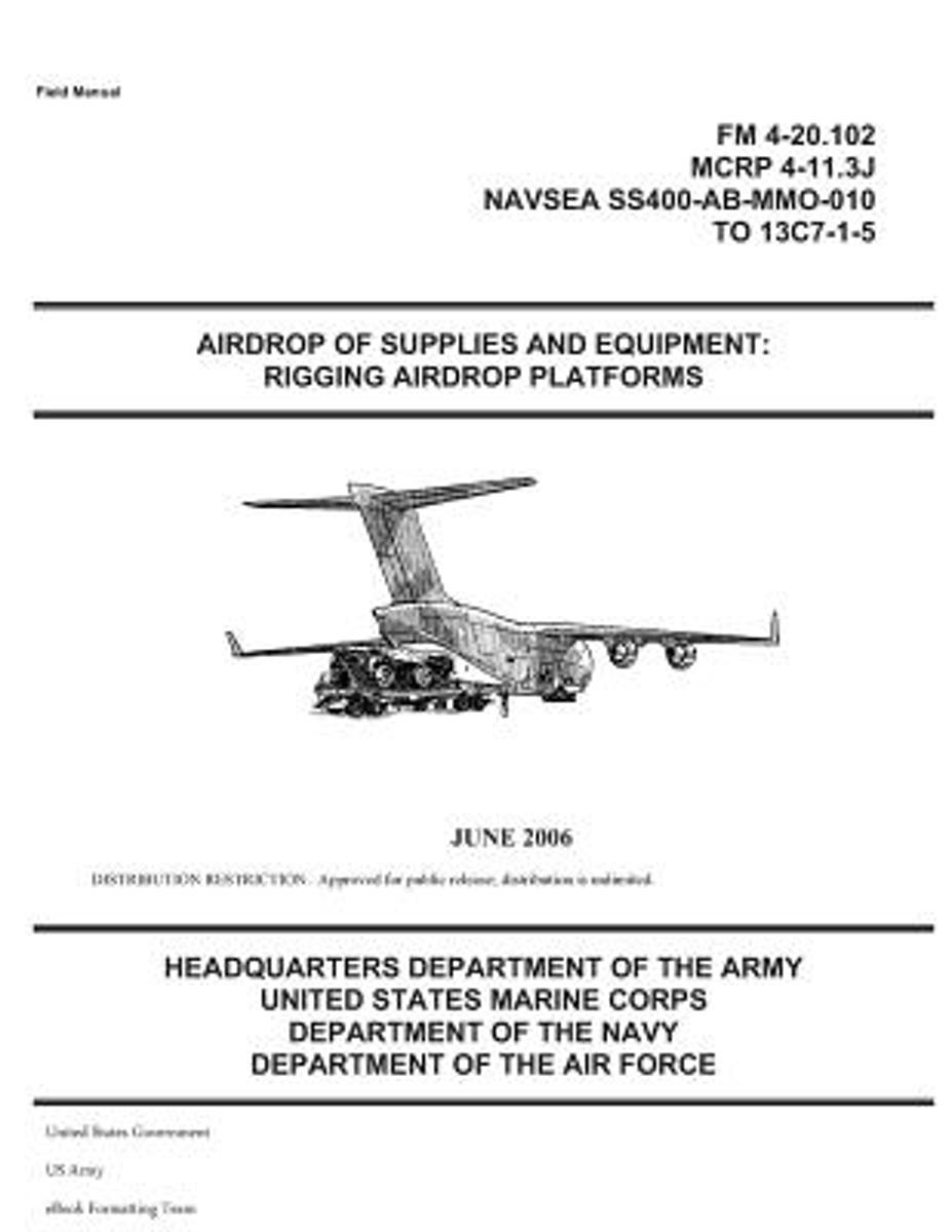 Field Manual FM 4-20.102 Airdrop of Supplies and Equipment