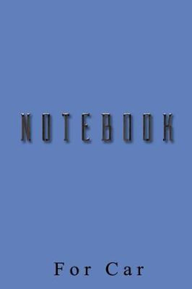 Notebook for Car