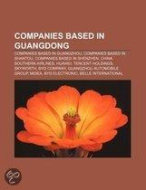 Companies Based In Guangdong: Chiaphua Components Group, Midea, Mindray Medical International Limited, Hisense Kelon