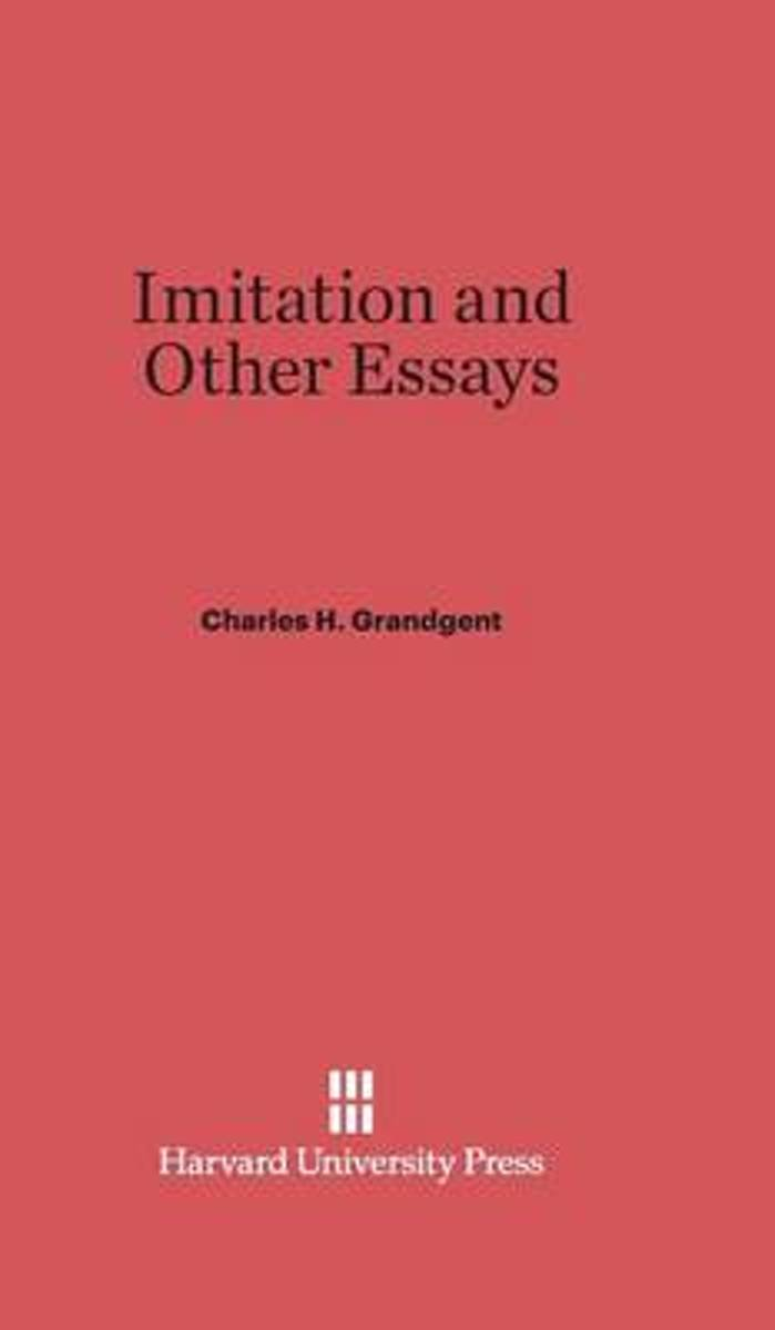 Imitation and Other Essays