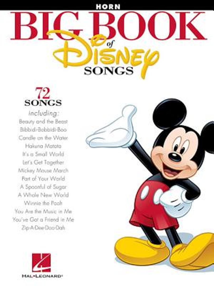 The Big Book Of Disney Songs - French Horn