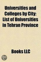 Universities And Colleges By City: Colleges In Aberdeen, Colleges In Barrow-In-Furness, Colleges In Ho Chi Minh City