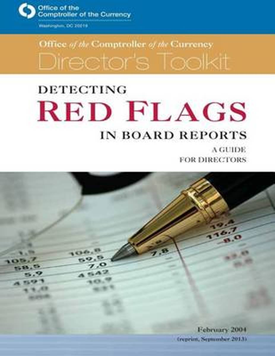 Detecting Red Flags in Board Reports