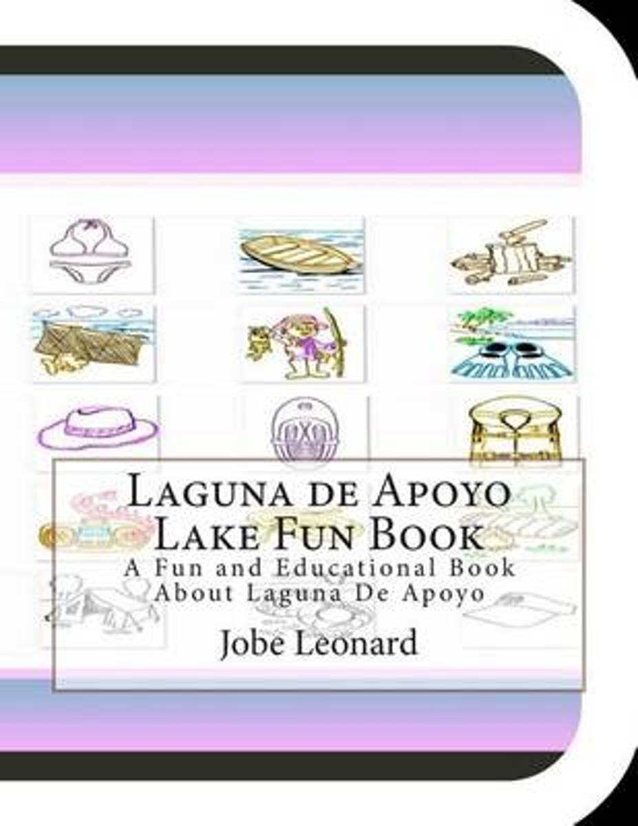 Laguna de Apoyo Lake Fun Book