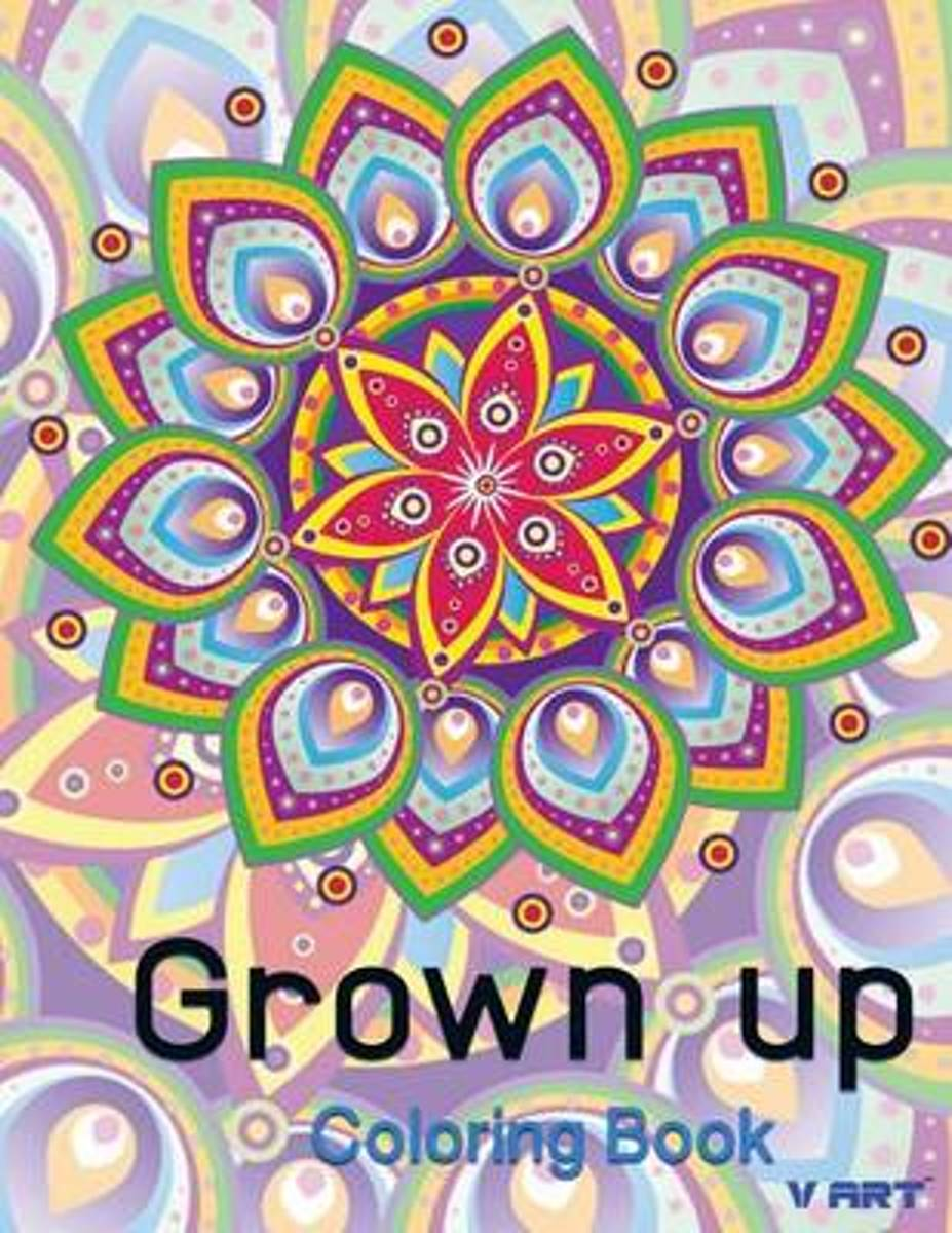 Grown Up Coloring Book 9