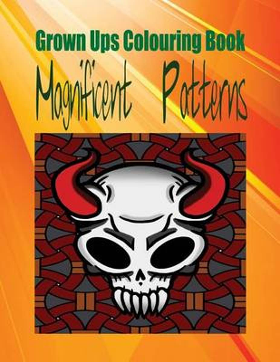 Grown Ups Colouring Book Magnificent Patterns