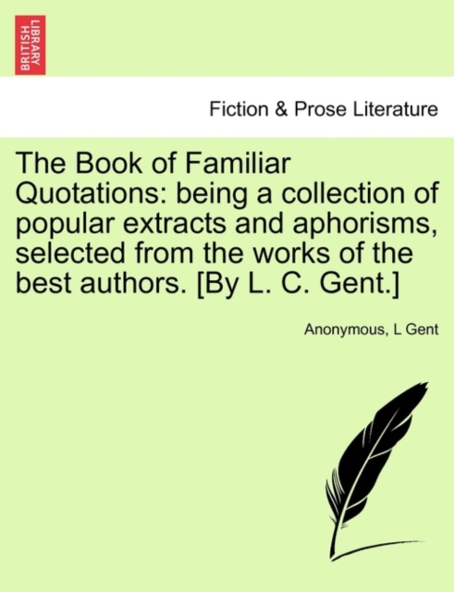 The Book of Familiar Quotations