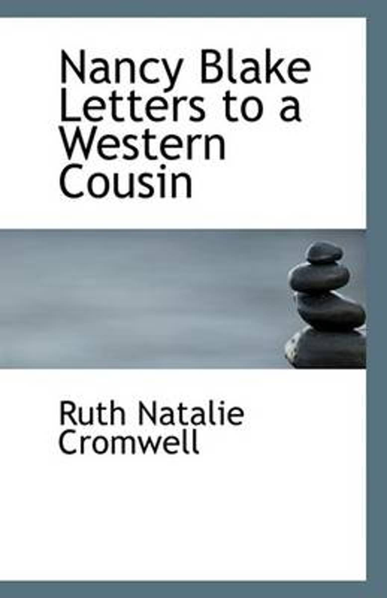 Nancy Blake Letters to a Western Cousin