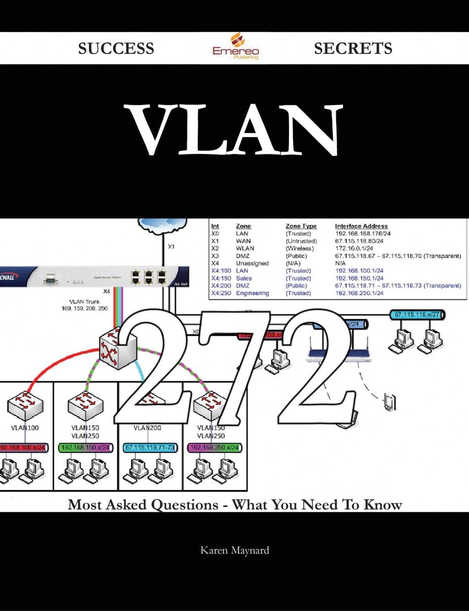 VLAN 272 Success Secrets - 272 Most Asked Questions On VLAN - What You Need To Know