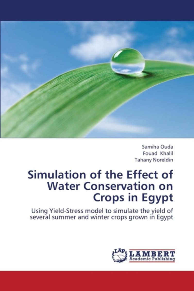 Simulation of the Effect of Water Conservation on Crops in Egypt