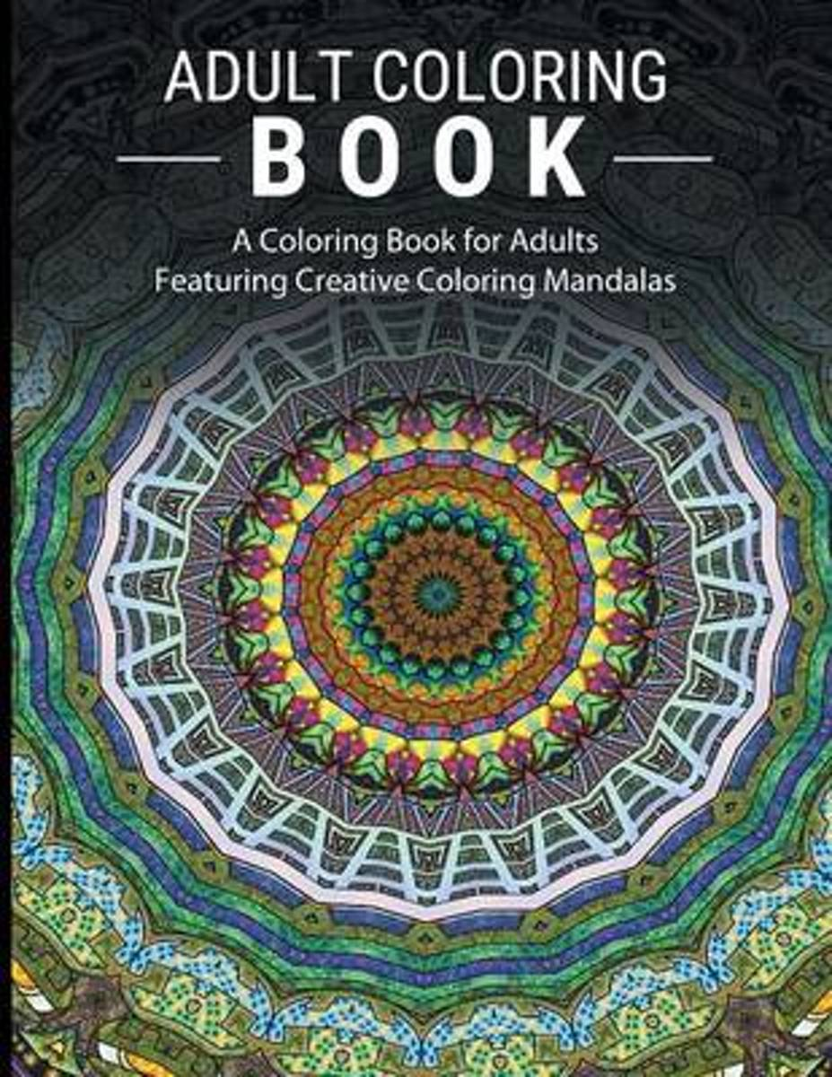 Adult Coloring Books Stress Relieving