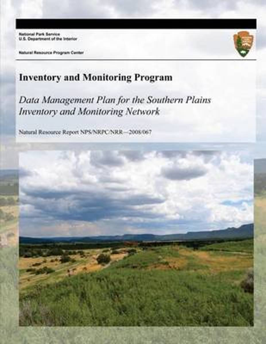 Data Management Plan for the Southern Plains Inventory and Monitoring Network