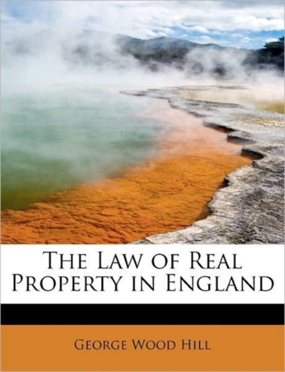 The Law of Real Property in England