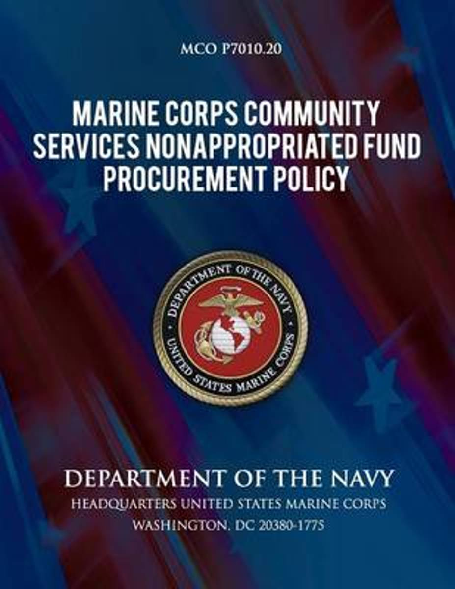 Marine Corps Community Services Nonappropriated Fund Procurement Policy