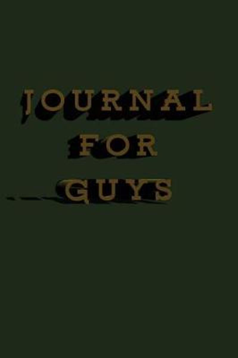 Journal for Guys