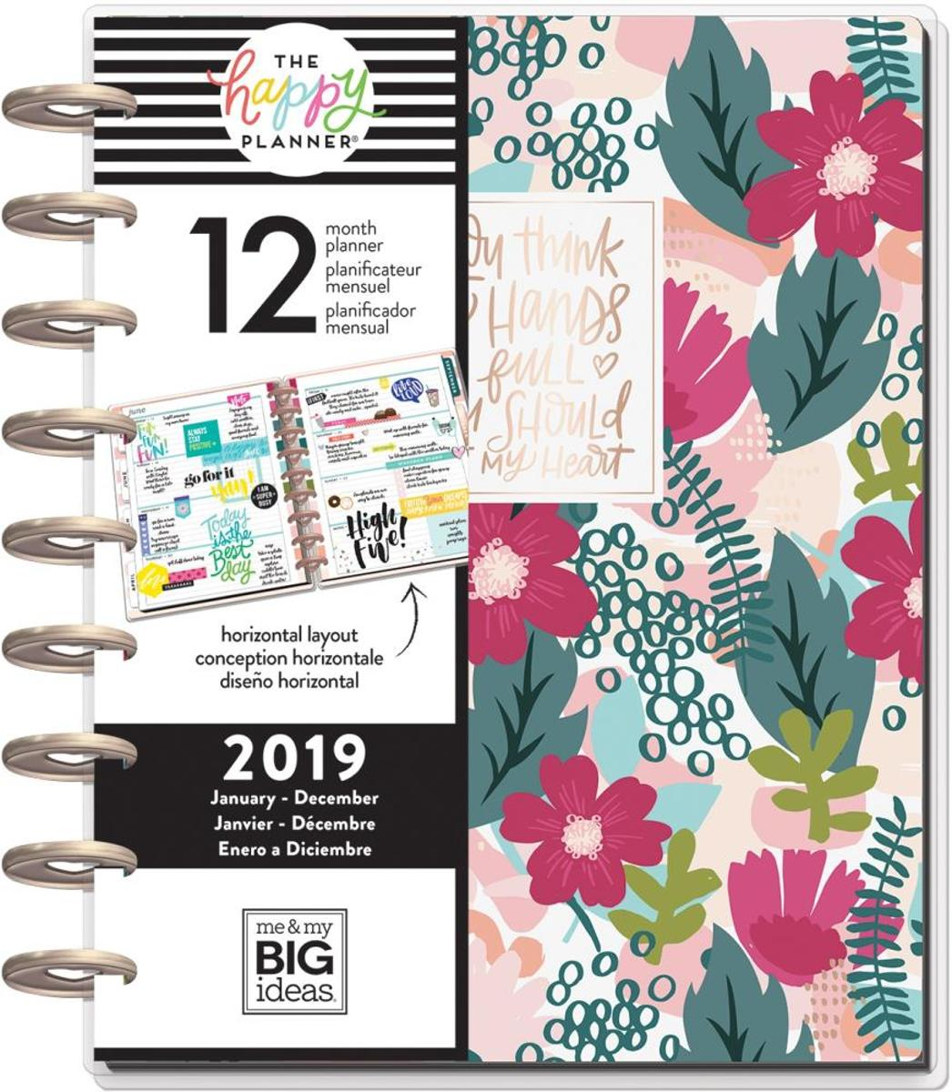 Me& my big ideas - Happy Planner - Wanderlust - Jan-Dec 2019