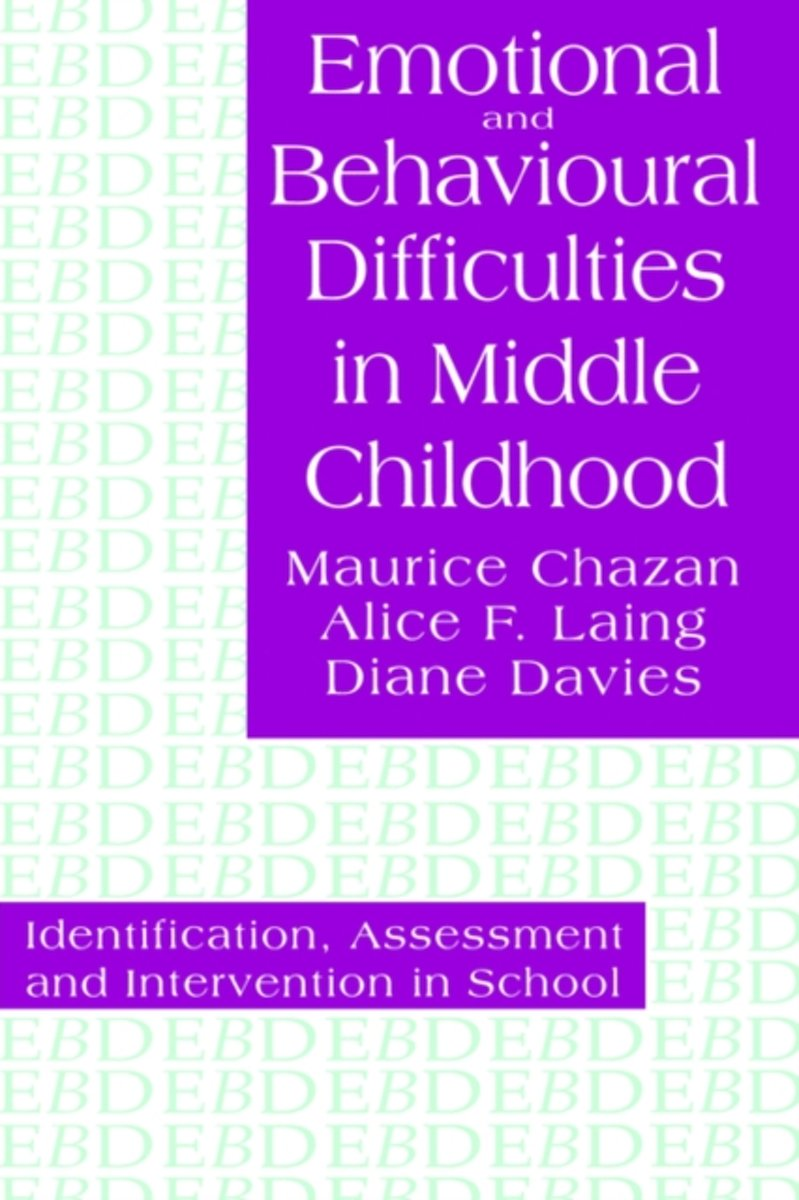 Emotional And Behavioural Difficulties In Middle Childhood